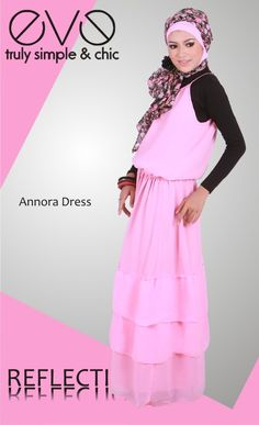 Annora Dress  Material : Chiffon with Satin Furing  Colour : Pink