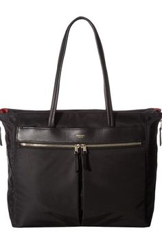 KNOMO London Mayfair Grosvenor Place Expandable Top Zip Tote (Black) Tote Handbags - KNOMO London, Mayfair Grosvenor Place Expandable Top Zip Tote, 119-209-BLK, Bags and Luggage Handbag Tote, Tote, Handbag, Bags and Luggage, Gift, - Street Fashion And Style Ideas
