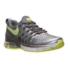 Nike Men's Fingertrap Max Training Shoes 644673 070 Grey/Volt Size 9 #NikeAir #RunningCrossTrainingSneakers