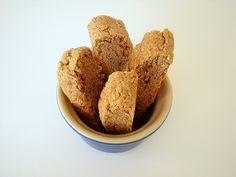 Soft Gingerbread Biscotti