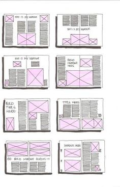 magazine outline template