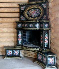 German/Russian Fireplace