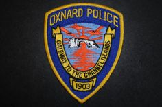 Oxnard Police Patch, Ventura County, California (Current Issue)