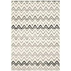 Safavieh Evoke Cream/Dark Grey 8 ft. 6 in. x 12 ft. Area Rug - EVK498C-9 - The Home Depot