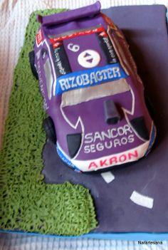 Auto de TC realizado en Porcelana Fría / Race Car made of Cold Porcelain