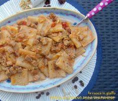 Pasta e tonno alla trapanese con muddica atturrata | la cuoca in giallo