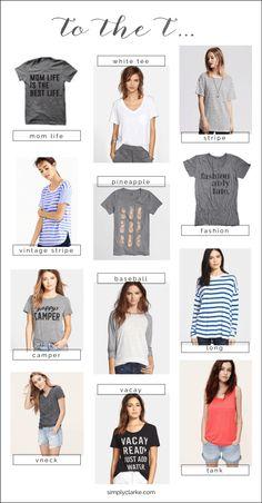 to the t. fashion tee's i love. #fashion #tshirt