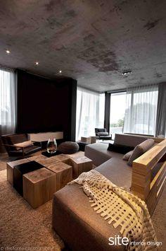 70 moderne, innovative Luxus Interieur Ideen fürs Wohnzimmer - ecksofa dekoration modern extravagant idee