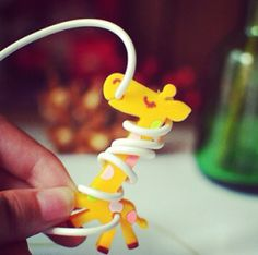 Giraffe Earphone Tidy