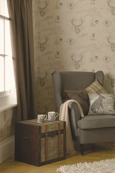 """Holden Decor has done it again! """"Portfolio"""" is this year's undeniable hit, setting new trends in wallpaper design. See more Holden Decor collections in our online store: www.moonavoor.ee"""