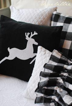 Dear Lillie: Christmas Cushion