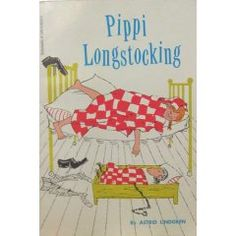 Childhood Memory Keeper: Retro Pop Culture from the 1960s, 1970s and 1980s: Pippi Longstocking by Astrid Lindgren