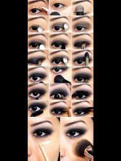 Dark makeup love it❤️ follow me❤️