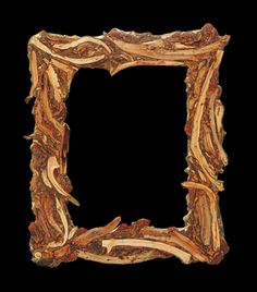 #drift-wood mosaic #photoframe, see more on Fb page https://www.facebook.com/pages/Silvia-Logi-Artworks/121475337893535?ref=br_rs