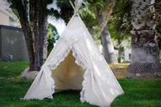 Fantasy lace teepee kids Teepee tipi Play tent wigwam or