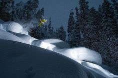 Zack Giffin skiing Mt. Baker, WA