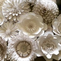 Paper Flower Wall custom and handmade to order. by PaperstoPetals Paper Flower Decor, Tissue Paper Flowers, Paper Flower Backdrop, Flower Crafts, Flower Decorations, Flower Art, Giant Paper Flowers, Large Flowers, Flores Diy