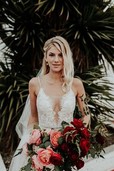 This Pro Surfer's Moody Black Tie Wedding is GOALS #californiaweddingvenues #deconstructedweddingflowers #blacktieweddingdecor