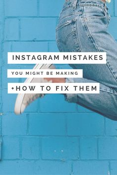 Shop Owners: Instagram Mistakes You Might Be Making