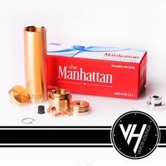 Brass Manhattan Mod now in stock. Pick up this mechanical mod from Ameravape Technologies competition mod http://www.vapor-hub.com/product/brass-manhattan-mod/     Brass Manhattan Mod From Ameravape Brass Manhattan Mod from Ameravape Technologies is an all brass vape mod this is titled as a competition mod. The Brass Manhattan Mod is comprised completely of naval brass with the exception of the copper contacts (3 extra top contacts included).