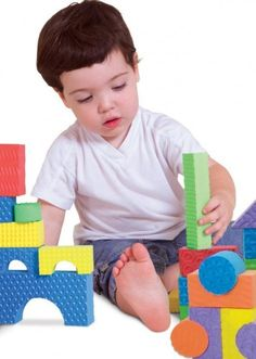 Awesome textured blocks- great for sensory and fine motor skills development