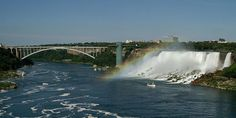I will see ALL of these one day! Top 6 Waterfalls in North America Domestic Destinations, Us Destinations, Places To Travel, Places To See, Travel Stuff, Niagara Falls New York, Paradise Falls, Around The World In 80 Days, Us Road Trip