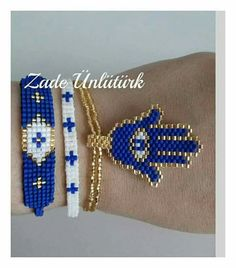 Miyuqui Seed Bead Jewelry, Jewelry Making Beads, Beaded Jewelry, Handmade Jewelry, Beaded Necklace, Seed Bead Patterns, Jewelry Patterns, Bracelet Patterns, Bead Loom Bracelets