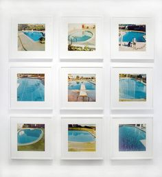 Ed Ruscha - Pool Portfolio - Based on his seminal 1968 artist book Nine Pools and a Broken Glass, this portfolio of nine color photographs catalogues Los Angeles swimming pools in Ruscha's signature deadpan style.