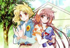 kobato, kohaku y Ioryogi Anime Chibi, Manga Anime, Anime Friendship, Xxxholic, Kohaku, Vampire Knight, Cardcaptor Sakura, Anime Artwork, Animation