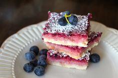 Blueberry Lemonade Bars - Wright Family Table