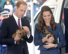 The Duke and Duchess of Cambridge visited the Royal New Zealand Police College