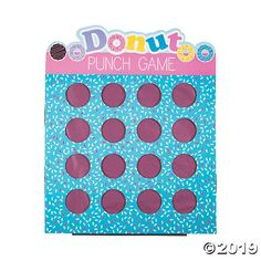 Sweeten up your birthday bash with games like this! A delicious addition to donut-themed party supplies, this game features a sprinkle design and includes 16 . Childrens Party Games, Tween Party Games, Princess Party Games, Halloween Party Games, Christmas Party Games, Party Themes, Party Ideas, Sleepover Party, Beach Party Games