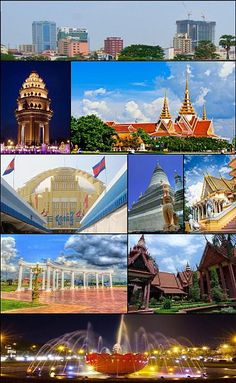 Phnom Penh ( ភ្នំពេញ ) is the capital and largest city of Cambodia. Located on the banks of the Mekong River, Phnom Penh has been the national capital since the French colonized Cambodia, and has grown to become the nation's center of economic and industrial activities, as well as the center of security, politics, economics, cultural heritage, and diplomacy of Cambodia.