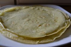 Quick Gluten free tortillas. Same concept as crepes. With a little maple syrup and toppings, I am sure they would work very similarly.