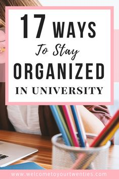 17 organizational strategies for college and university students. Decrease the stress you& feeling and increase the amount of time you& able to spend doing the things that you enjoy by applying what you learn in this article. University Organization, College Organization, Organization Hacks, College Courses, Education College, Education Degree, Online College, Education Requirements, Math Education