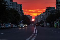 Tonight in Iasi (by Razvan Lazarescu) Beautiful Sky, Beautiful World, Top Photo, Mother Nature, Night Life, The Incredibles, Country, City, Places