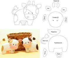 Felt Animal Patterns, Felt Crafts Patterns, Stuffed Animal Patterns, Sewing Art, Sewing Toys, Fabric Fish, Bear Felt, Animal Templates, Animal Crafts For Kids