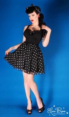 Girl Crush  Pin-Up Style Icon Micheline Pitt