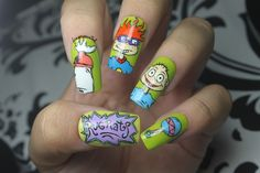 Rugrats Nails - Nail Art Gallery by NAILS Magazine