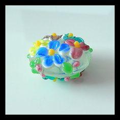 Murano Glass Beads  Handmade Glass BeadsLoose by Girljewelrybox