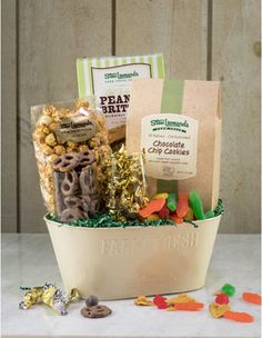 Sweet Treats Bestselling Gourmet Treats Gift Basket - Stew Leonard's Gifts #Easter #Gifts #Coupons #Sweets