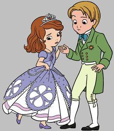 A Princesa Sofia - Cia dos Gifs
