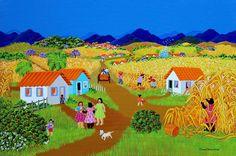 Ana Maria Dias | Visualização de Obras de Arte Naif