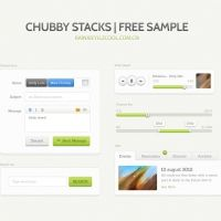Download free high quality Clean and green small ui kit - Psd Files. No waiting time required! Fast download.