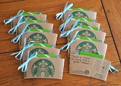 DYI Starbucks Giftcard Holders