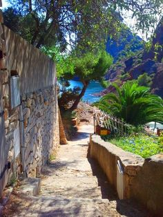 Cote d'Azur/Pursue some path, however narrow and crooked, in which you can walk with love and reverence.