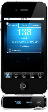 Blood Glucose Meter for iPhone & iPod Touch