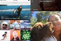 La red social actualiza la sección  Explore  para mostrar grabaciones basadas en los gustos de los usuarios y vídeos de temas destacados