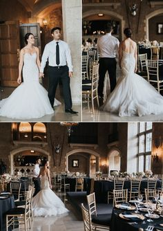 Spectacular Banff Springs Wedding with the ceremony on the outdoor terrace & the reception in Mt Stephen Hall featuring black and gold decor Lace Bride, Wedding Bride, Dream Wedding, Fairmont Banff Springs, Proposal Photographer, Best Wedding Venues, Outdoor Ceremony, Wedding Portraits, Spring Wedding