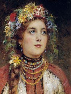 Русские красавицы - 24 картины